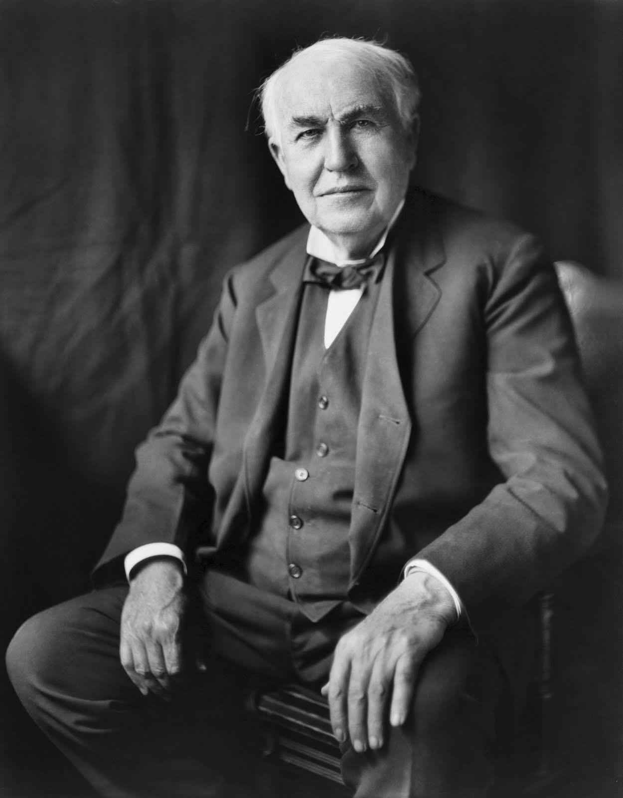 A biography of thomas edison the scientist