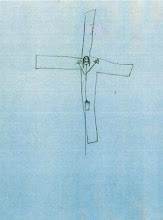 Um crucifixo no blogue