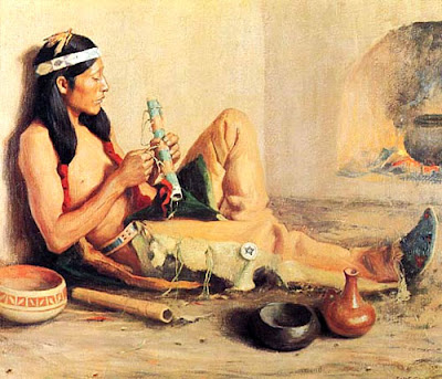 La flauta de Karuety Native-american-flutes-5