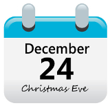 December 24: Christmas Eve