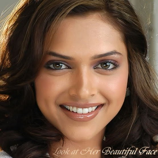 Look At Her Beautiful Face: Look At Deepika Padukone ...