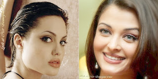 The Conclusion Is Aishwarya Rai's Face Is More Beautiful Than Angelina Jolie's
