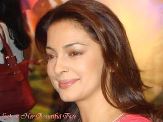 Look At Juhi Chawla Beautiful Face
