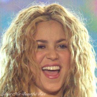 Shakira Beautiful Face