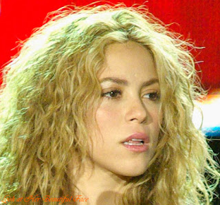 Shakira Beautiful Face