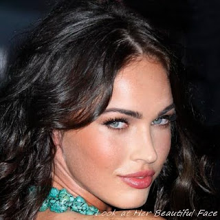 Megan Fox Beautiful Face