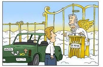 O carro  pode entrar,  mas você  terá que ir  lá para  baixo...