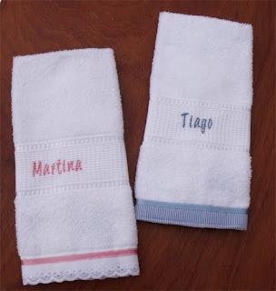 Natalie livchich ajuares toallas de bebe personalizadas - Toallas infantiles personalizadas ...