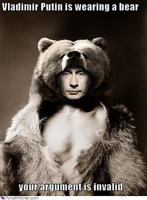 Putin in a Bear Coat