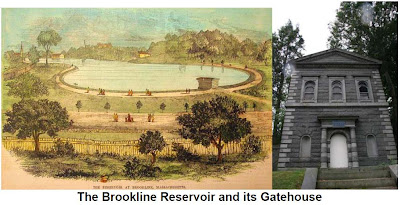 Brookline Reservoir and Gatehouse