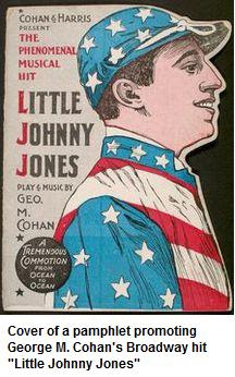 Pamphlet Promoting Little Johnny Jones