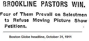 Illustration: Globe Headline, 1911