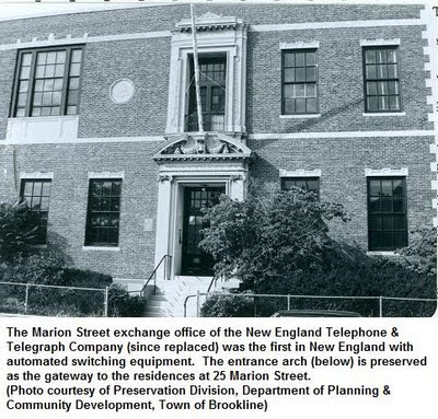 Photo: The old Marion Street telephone exchange office