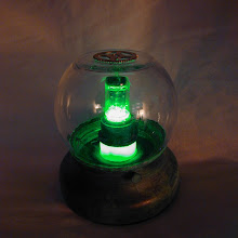 "Steampunk Airship ""Tracking"" Lamp"