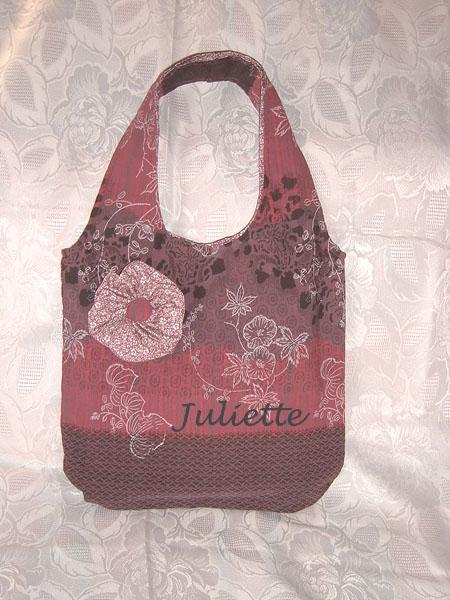 L 39 atelier de couture de juliette deuxi me sac r versible for Atelier couture a bordeaux