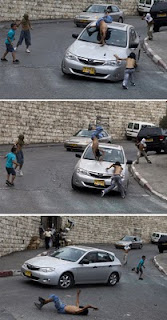 Israeli Settler Leader Drives over Palestinian Boys Demonstrating in Silwan