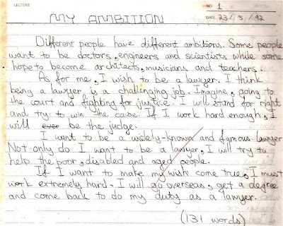 ambition essay an ambition essay