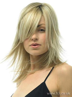 Long Blonde Layered Hairstyles