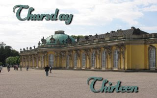 Thursday Thirteen - Sans Souci Palace
