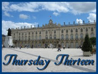 Thursday Thirteen - Place Stanislas