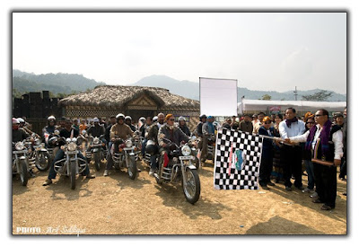 Bikers expedition from Itafort to Lake of No Return