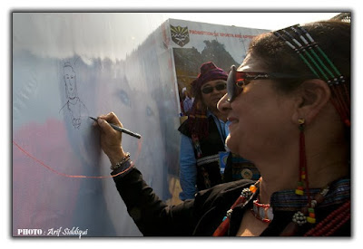 Let Peace Prevail signature campaign