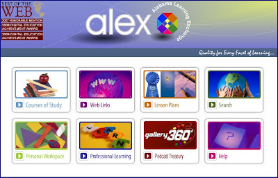 ALEX homepage