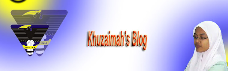 khuzaimah's blog