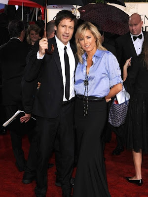 david duchovny wife tea leoni. David Duchovny and Tea Leoni