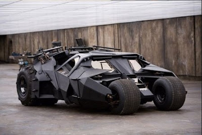 My favorite futuristic car - batmobile 2