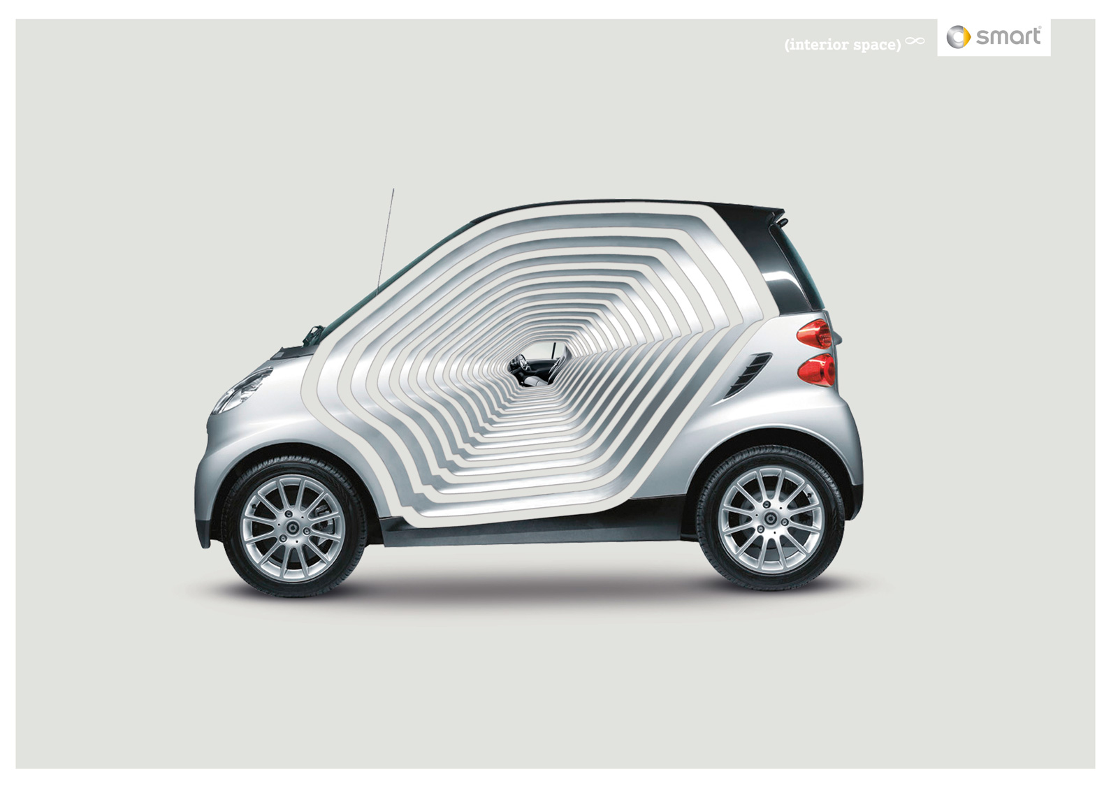 Smart car ad too damn smart for its own good