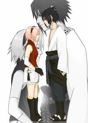 Sasuke and Sakura Shippuuden