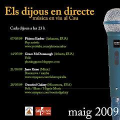 Els Dijous al Cau - Maig 2009