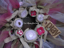 Tulle &amp; Burlap Wreath