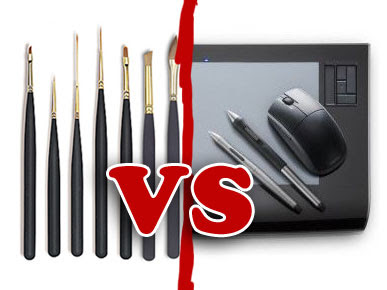 |Debate| Dibujo Digital vs Tradicional Pincelesvswacom