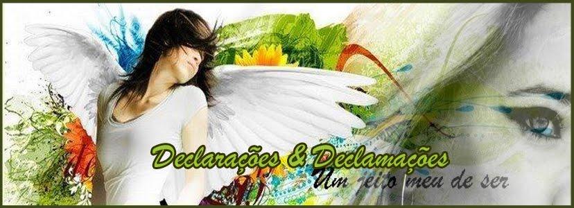 Declarações & Declamações