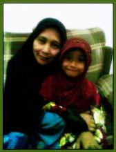 my mom and lil sister