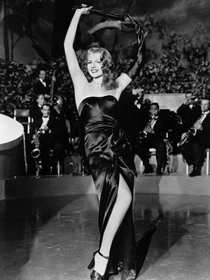 closet: iconic dress: rita hayworth in