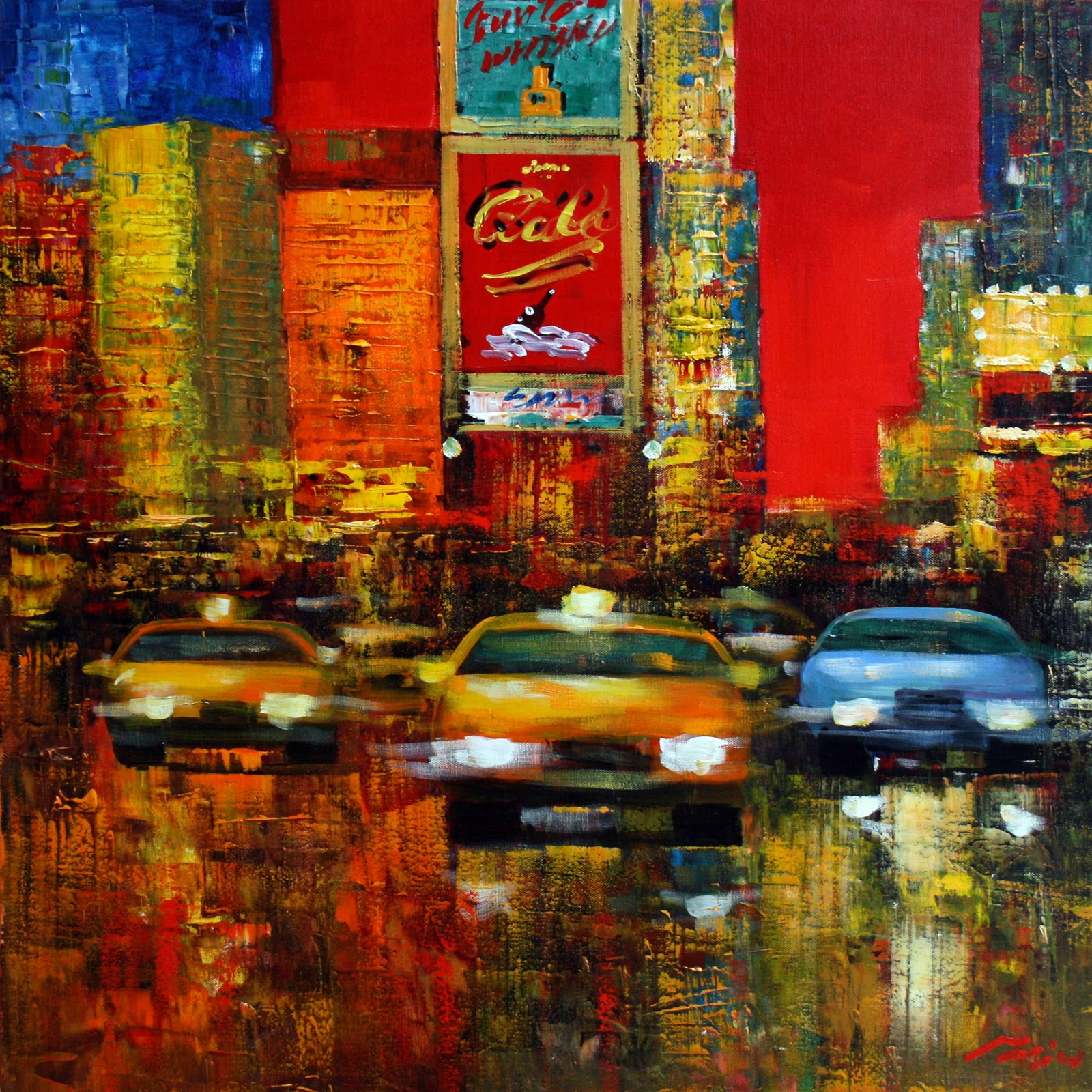 arte y artificios: SOBRE LOS CUADROS DE NUEVA YORK