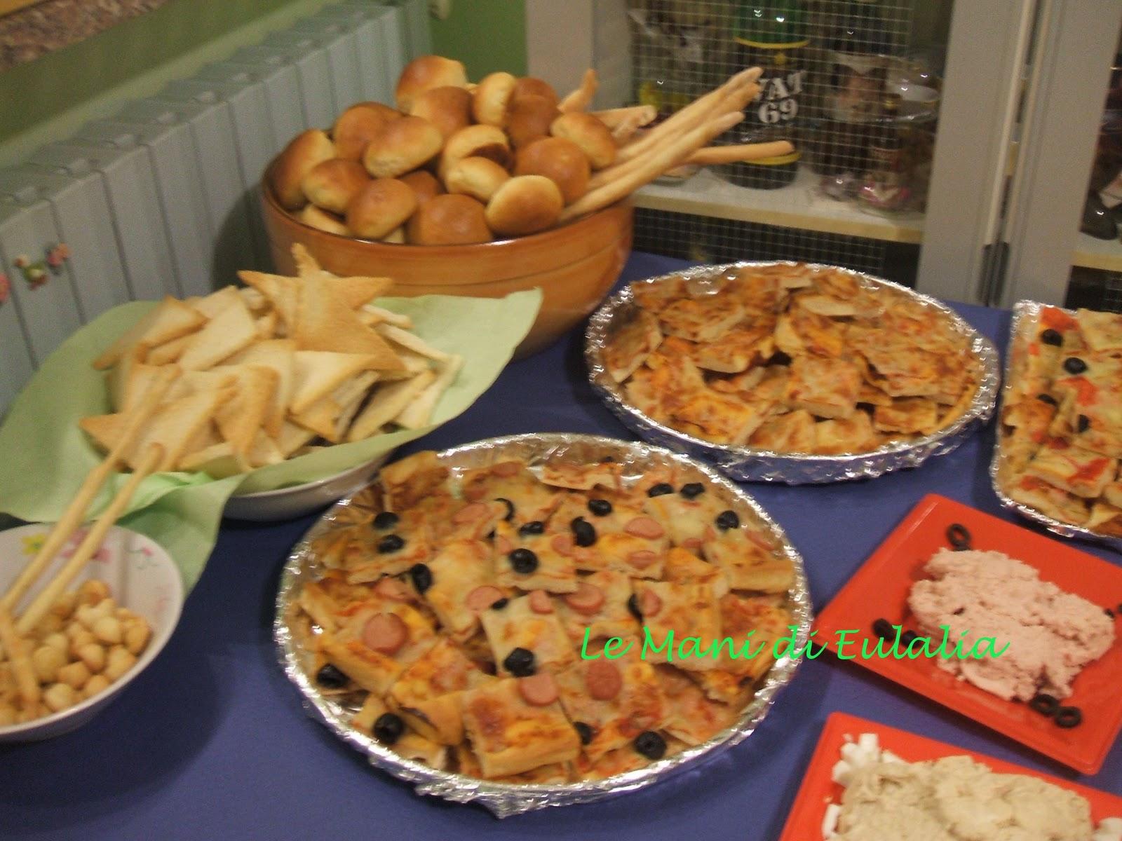 Buffet Natalizio Cookaround : Buffet natalizio per bambini: il menu della vigilia di natale per 20