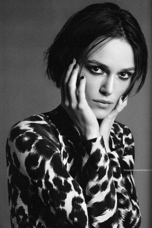 Keira Knightley Elle UK March 2011