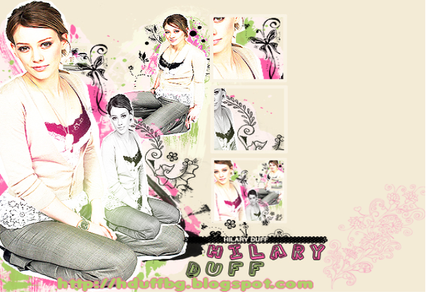 Hilary Duff Bg Official site