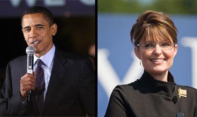 Obama and Palin