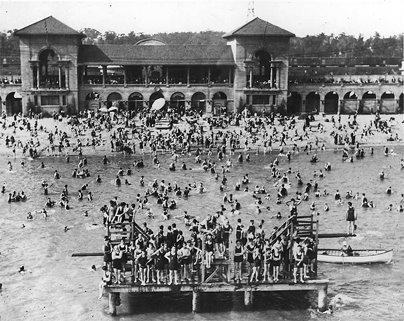 Sunnyside Beach Toronto 1924