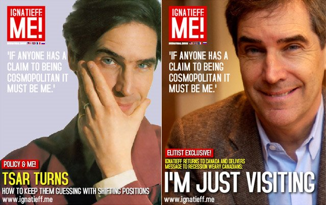 Michael Ignatieff Conservative Magazine Cover