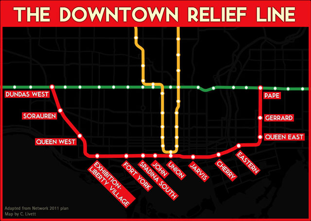 TTC Downtown Relief Line