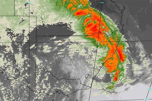 Sydney Dust Storm Radar