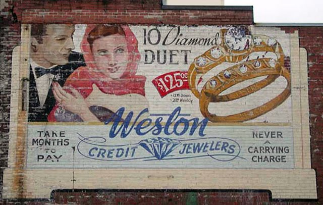 Toronto Ghost Signs Weston Credit Jewelers