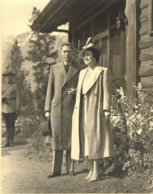 King George VI and Queen Elizabeth Jasper Canada 1939
