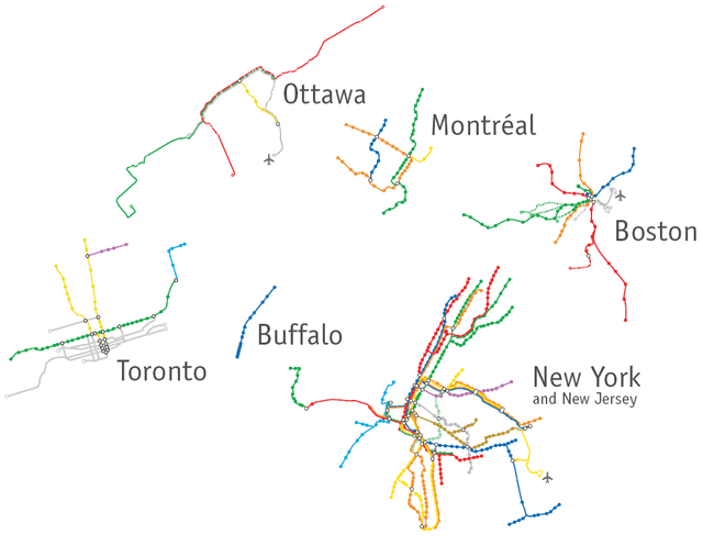 North American Subway Systems